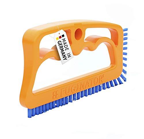 FUGINATOR® Fugenbürste orange/blau – Bürste zur Fugenreinigung in...