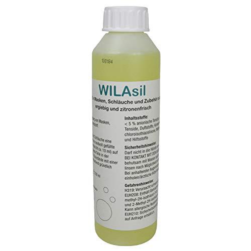 WILAsil 250ml CPAP Maskenreiniger Silikonreiniger - für CPAP-Masken,...
