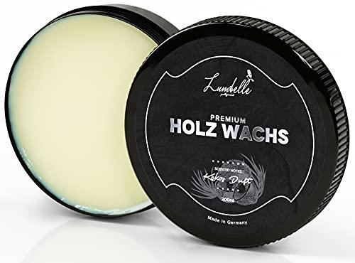 LUMBELLE® Premium Holzwachs farblos mit besonderer Duftnote MADE IN...