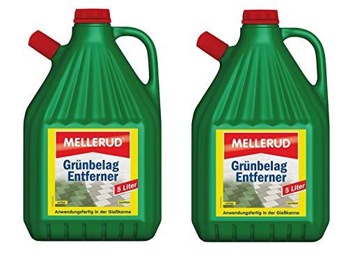 MELLERUD Algen und Grünbelag Entferner 5 Liter (2 Stück)