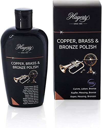 Hagerty Copper Brass & Bronze Polish 250 ml I Effiziente Bronze...