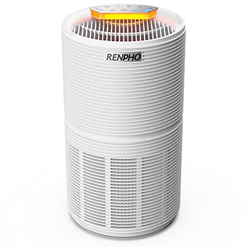 RENPHO Luftreiniger für Allergiker bis zu 66㎡, Air Purifier...