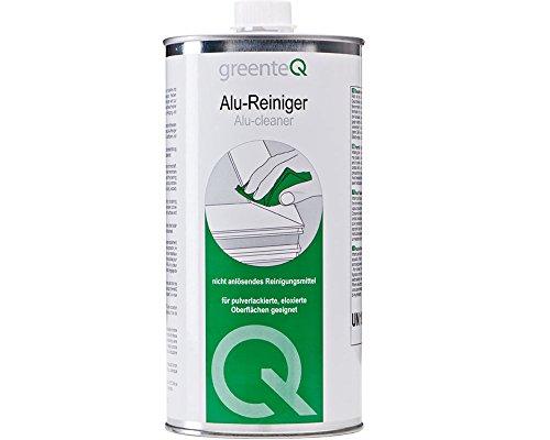 greenteQ Alu-Reiniger 1 Liter Aluminium Reiniger Fenster Türen...