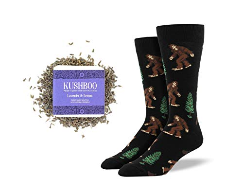 Socks and Soap Collection Herren Socken Bigfoot mit Lavendel und...
