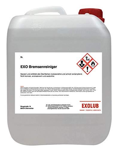 EXOLUB Bremsenreiniger Montagereiniger Entfetter ACETONFREI 5L...