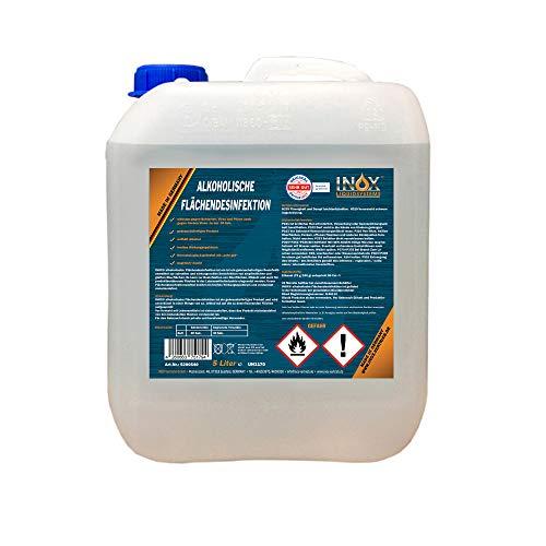 INOX® alkoholische Flächendesinfektion, 5L -...