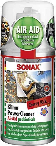 SONAX KlimaPowerCleaner AirAid probiotisch Cherry Kick (100 ml) für...