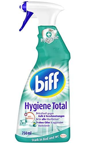 Biff Hygiene Total Badreiniger (für alle Oberflächen) 4er Pack (4 x...