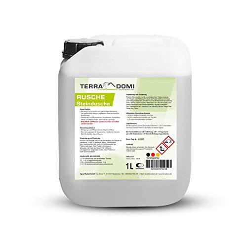 Terra Domi Rusche Steindusche, 1 L, Steinreiniger für bis zu 400 m²,...
