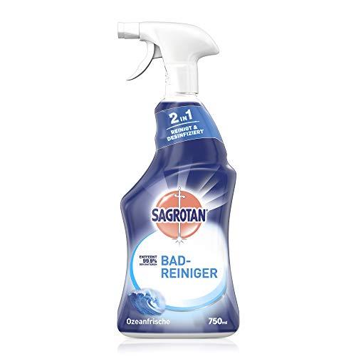 Sagrotan Bad-Reiniger Ozeanfrische – 2in1 Desinfektionsreiniger mit...