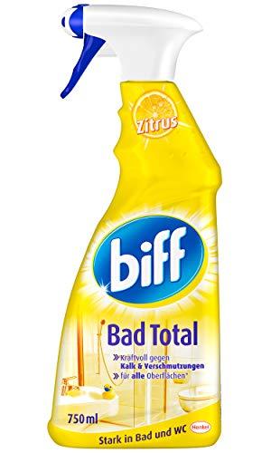 Biff Bad Total Zitrus Badreiniger (für alle Oberflächen) 8er Pack (8...
