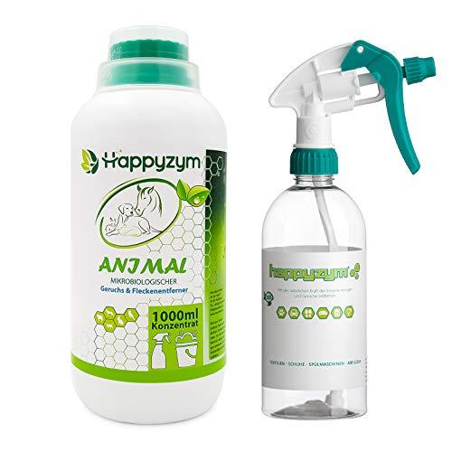 Happyzym Enzymreiniger Geruchsentferner und Fleckenentferner gegen...