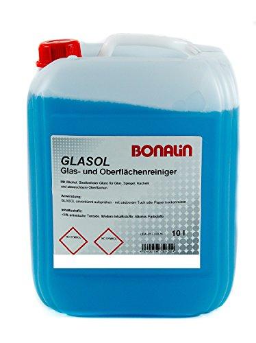 Bonalin Glasreiniger Glasol Anwendungsfertiger Glasreiniger 10 Liter...