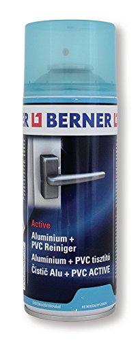 Berner 13792 Aluminium/PVC-Reiniger 400 ml, Spraydose Fensterbau...