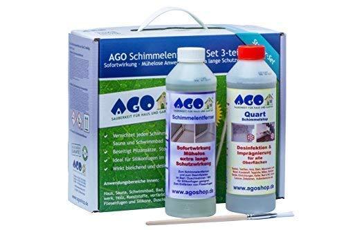 AGO® Schimmelentferner & Schimmelstop Set I Anti Schimmel...