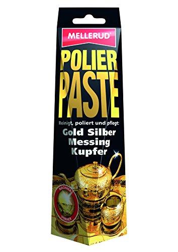 MELLERUD Polierpaste 150 ml für Gold, Silber, Messing, Kupfer...