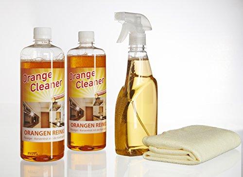 Orangenreiniger Konzentrat ergibt bis zu 200 Liter Reiniger 2 x 750 ml...