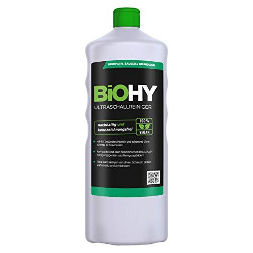 BiOHY Ultraschallreiniger (1l Flasche) | intensive und...
