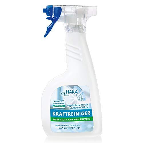 HAKA Kraftreiniger I 500ml Kalkreiniger I Reinigungsmittel gegen Kalk...