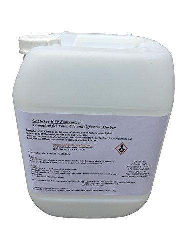 Gematec K 59 Kaltreiniger extra stark 10 L Teilereiniger Entfetter