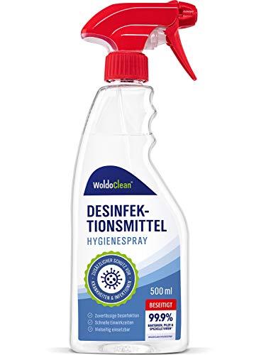 Desinfektionsmittel für Flächen gegen Viren und Bakterien - 500ml...