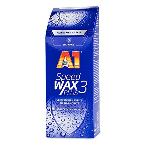 Dr. Wack – A1 Speed Wax Plus 3, 500 ml – NEUE FORMEL I Premium...