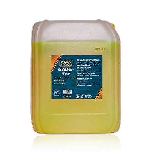 INOX® All Star Multireiniger, 5L - Universalreiniger für Textilien,...
