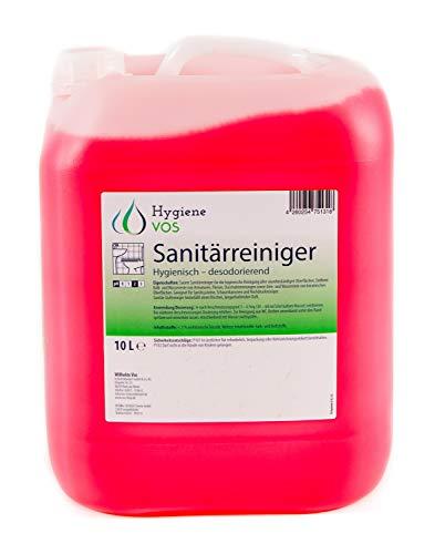 Hygiene Vos Sanitärreiniger 10 Liter. Entfernt Kalk von Armaturen,...