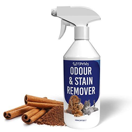 PETSLY Geruchsneutralisierer für Hunde & Katzen Flecken,...