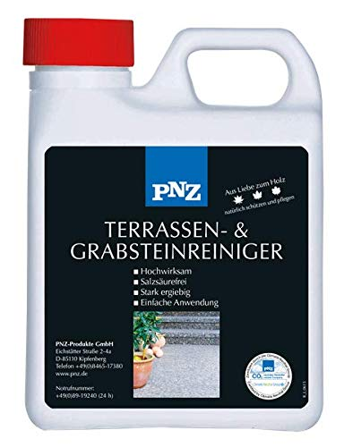PNZ Terrassen- und Grabsteinreiniger, Gebinde:1L