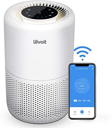 LEVOIT Luftreiniger H13 HEPA Filter für Allergiker, Luftfilter gegen...