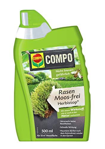 COMPO Rasen Moos-frei Herbistop, Bekämpfung Moosen und Algen,...