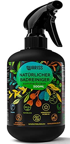 Quariss 99.9% Natürlicher Badreiniger Allzweckreiniger - Vegan...