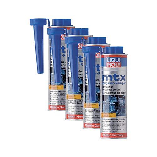 Liqui Moly 4X 5100 MTX Vergaser-Reiniger Zusatz Additiv 300 ml