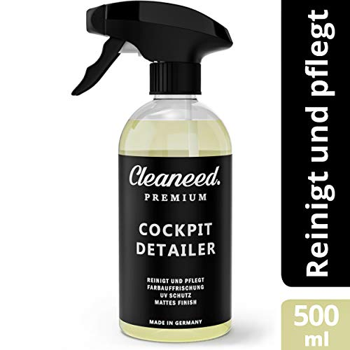Cleaneed Premium Cockpit Detailer – Made IN Germany – Einfache...