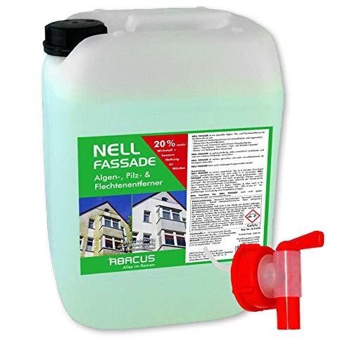 ABACUS 10 Liter Nell Fassade Fassadenreiniger & Grünbelagentferner...