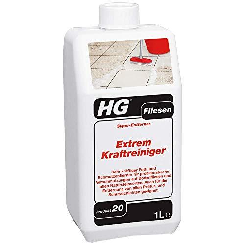 HG Fliesen Extrem-Kraftreiniger (Super-Entferner), Professionelle und...