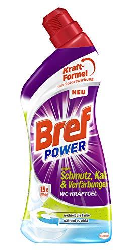Bref Power WC KraftGel 15x Effekt gegen Schmutz, Kalk und...