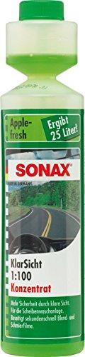SONAX KlarSicht 1:100 Konzentrat Apple-Fresh (250 ml)...