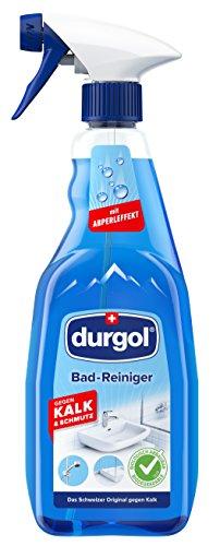 durgol Badreiniger mit Abperleffekt & ohne Trocken wischen – für...
