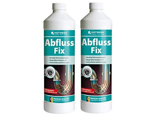 HOTREGA Abfluss Fix 1 L - Abfluss-Reiniger Konzentrat, gegen...