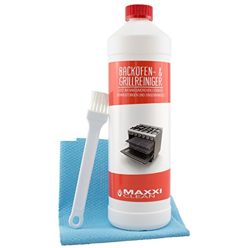 Maxxi Clean Backofenreiniger 1000 ml Gel Paste inkl. Backofen- und...
