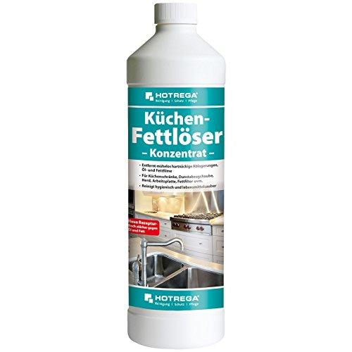 HOTREGA Küchen Fettlöser Konzentrat 1L - Küchenreiniger gegen Öl-...
