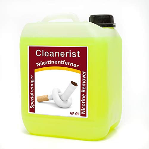 5 Liter Cleanerist AP05 Ruß- und Nikotinreiniger Nikotinentferner -...