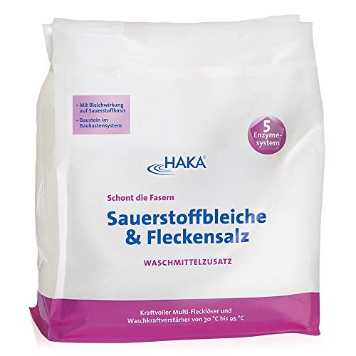 HAKA Sauerstoffbleiche & Fleckensalz I 1,5 kg Beutel I Kraftvoll gegen...