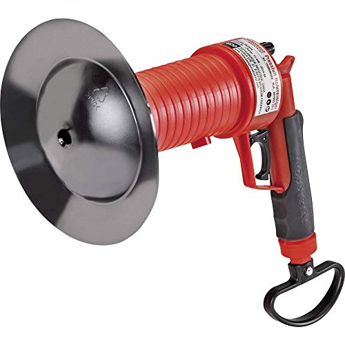 ROTHENBERGER Industrial Pressluft Rohrreiniger inkl. 4 Gummiadapter,...