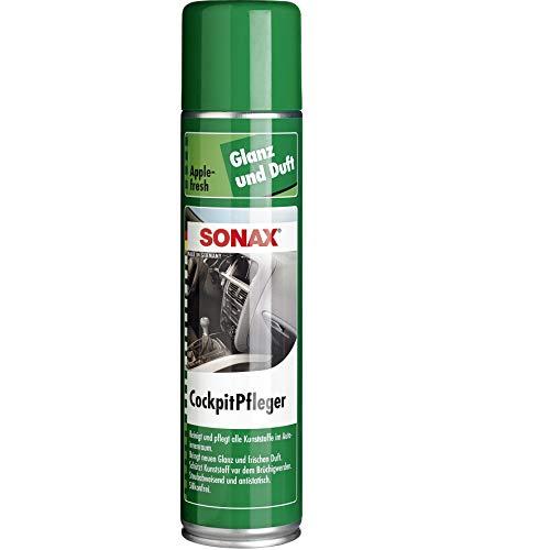 SONAX CockpitPfleger Apple-Fresh (400 ml) reinigt und pflegt alle...