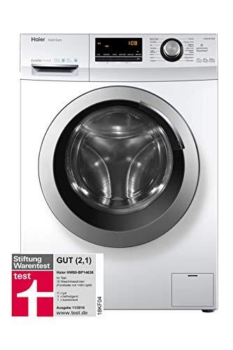 Haier HW80-BP14636 Waschmaschine Frontlader/A+++/8 kg/1400...