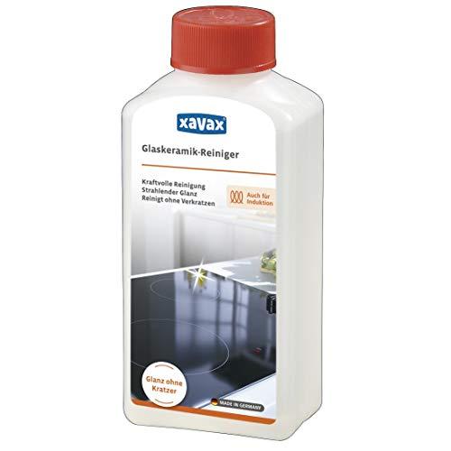 Xavax Reiniger für Glaskeramik Kochfeld, Ceranfeld, Induktionsherd,...