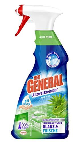 Der General Aloe Vera, Allzweckreiniger Spray, Sprühflasche, 5er Pack...